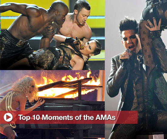 The Top 10 Moments of the 2009 American Music Awards