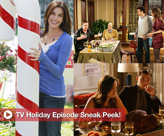 Sneak Peek Photos From Upcoming Thanksgiving and Christmas Themed TV Episodes