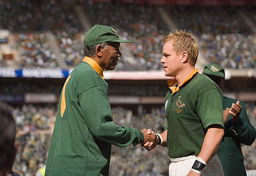 Review of Matt Damon and Morgan Freeman in Clint Eastwood&#039;s Invictus