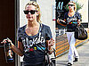 Photos of Ashley Tisdale Going to an LA Gym With an Edward Cullen Water Bottle