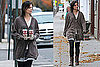 Photos of Katie Holmes Getting Coffees Near the Set of the Romantics