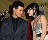 Slide Photo of Kristen Stewart and Taylor Lautner at Screening of New Moon in Knoxville