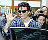 Slide Photo of Tom Cruise Waving To Fans in Austria