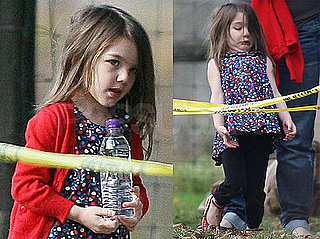 Photos of Suri Cruise Being Adorable