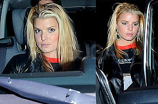 Photos of Jessica Simpson Leaving a Them Crooked Vultures Concert