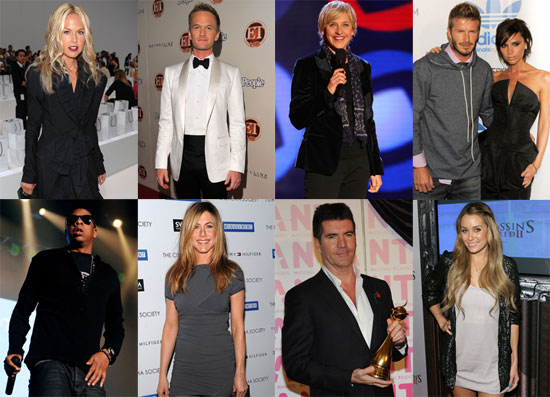 Who Do You Think Was the Hardest Working Star of 2009?