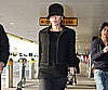 Slide Photo of Victoria Beckham At Heathrow Airport