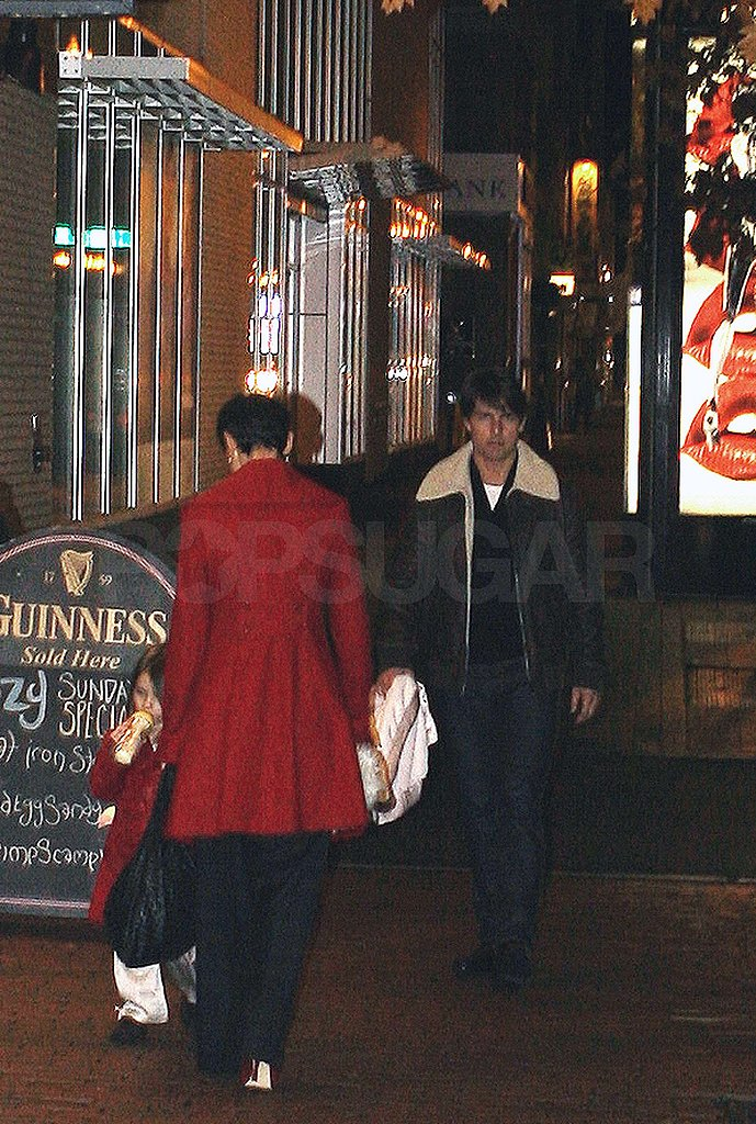 Photos of Tom and Katie out in Boston