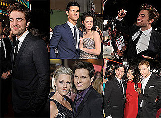 Photos of Robert Pattinson, Kristen Stewart, Taylor Lautner, Ashley Greene at New Moon LA Premiere 2009-11-17 04:55:00