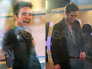Photos of Robert Pattinson on The Today Show Talking About New Moon