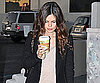 Slide Photo of Rachel Bilson Leaving Urth Cafe in LA