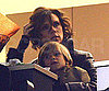 Slide Photo of Victoria Beckham with Romeo Beckham at Soccer Game