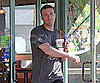 Slide Photo of Ben Affleck at Jamba Juice in LA