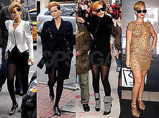 Photos of Rihanna All Around NYC Promoting Rated R; Booked New Year's in Abu Dhabi
