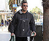 Slide Photo of Ben Affleck Going to Barnes and Noble in LA