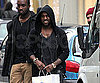 Slide Photo of Kanye West Shopping in France