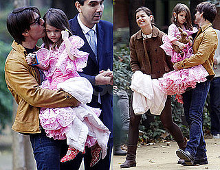 Photos of Tom Cruise, Katie Holmes And Suri Cruise in Seville