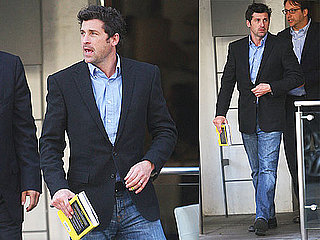 Photos of Patrick Dempsey Leaving a Restaurant in Beverly Hills