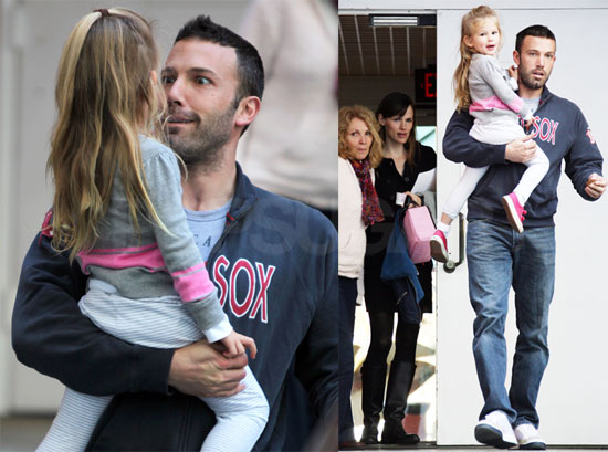 Photos of Ben Affleck, Jennifer Garner and Violet Leaving School