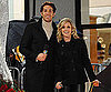 Slide Photo of Zachary Levi and Jane Krakowski at The Rockerfeller Center Tree Lighting