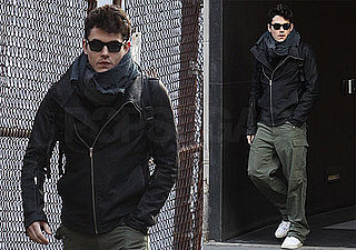 Photos of John Mayer In NYC Going To The Gym Bundled Up