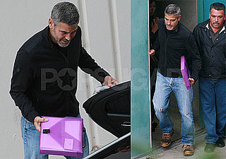 Photos of George Clooney at a Screening of Up in the Air