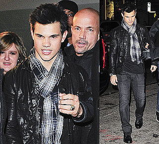 Photos of Taylor Lautner In NYC After Hosting SNL, Video of Taylor Lautner's SNL Monologue 2009-12-14 02:00:00