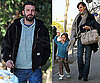 Photos of Ben Affleck, Jennifer Garner and Violet in Santa Monica