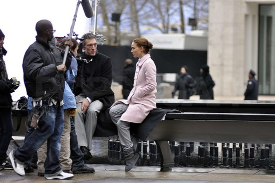 Photos of Natalie Portman Filming Black Swan in NYC