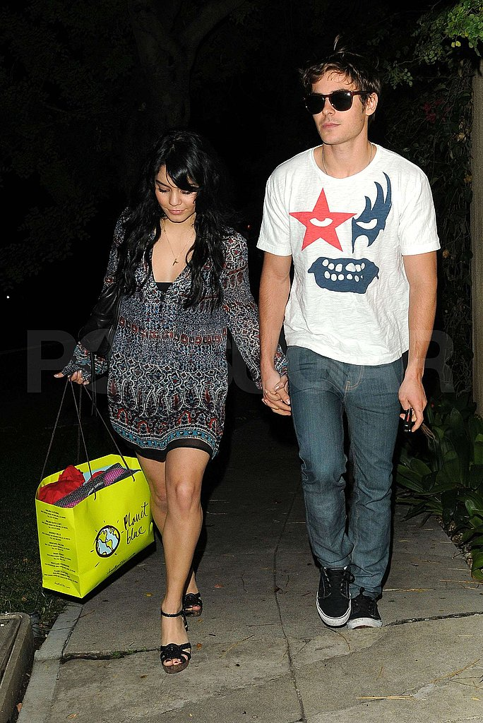 Photos of Zac and Vanessa in LA