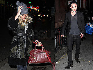 Photos of Jude Law And Sienna Miller Together in NYC at Night
