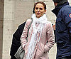 Slide Photo of Natalie Portman Wearing Pink In LA