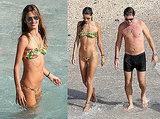 Photos of Alessandra Ambrosio in a Bikini