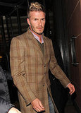 Photos of David Beckham in London