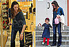 Photos of Jennifer Garner Shopping in LA Before Picking Up Violet Affleck From School