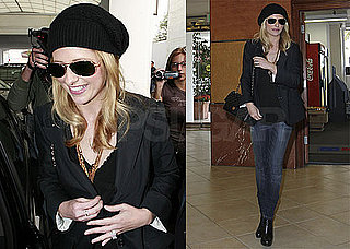 Photos of Sarah Michelle Gellar Wearing a Black Hat in LA