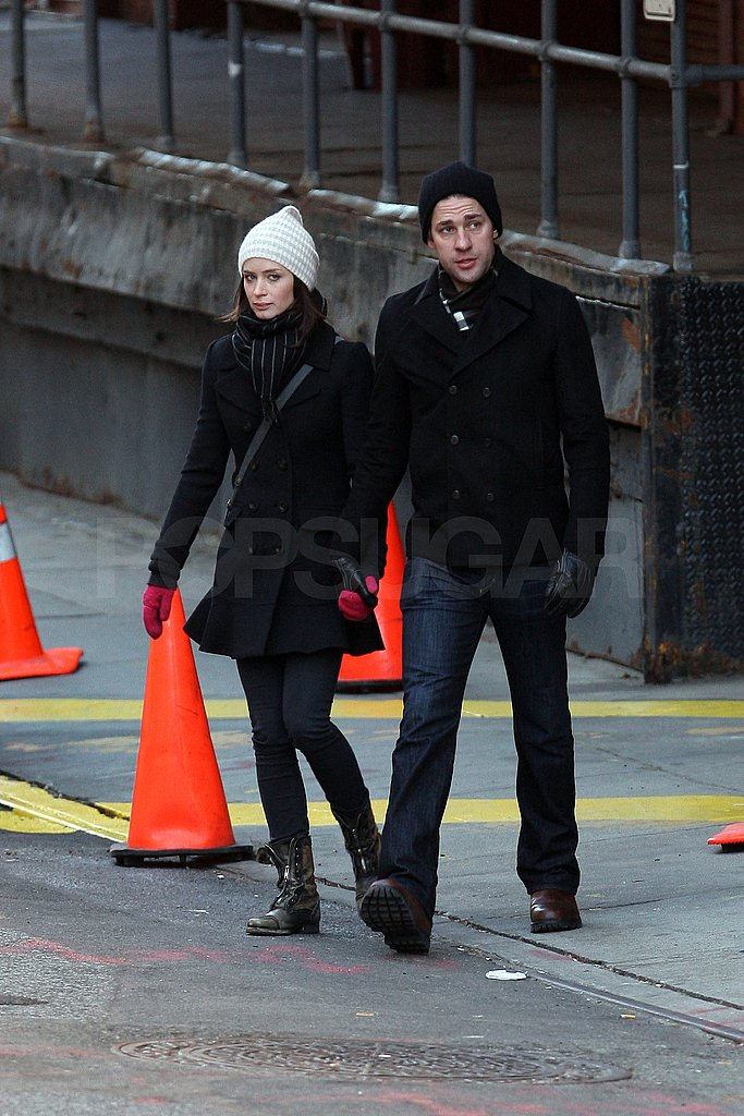 Photos of John Krasinski and Emily Blunt