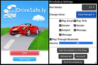 DriveSafely App Reads Your Blackberry Texts To You While You're Driving