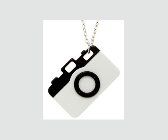 Camera Necklace ($14)