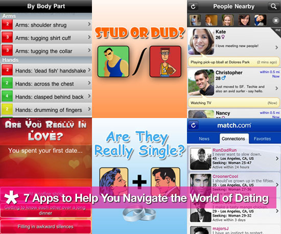 7 iPhone Applications to Help You Out While on a Date
