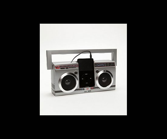 iPod Mini Boombox Speaker ($16)