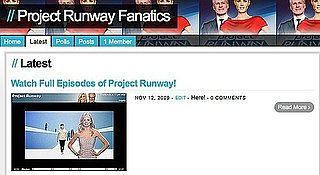 Project Runway Forum