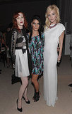 Icy Glares From Karen Elson, Jessica Szohr, and Jessica Stam