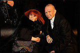 Sonia Rykiel and Jean Paul Gaultier