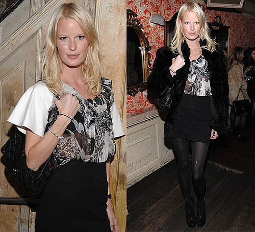 Photos of Caroline Winberg at Victoria's Secret Fashion Show Viewing Party in NYC