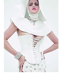 Lara Stone as a Nun in Vogue Paris December 2009