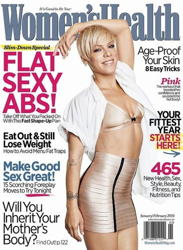 Photos and Quotes From Pink in Women's Health