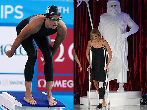 Olympic Swimmer Dara Torres Had Radical Knee Repair Surgery