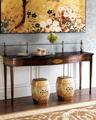 Get the look with the Wilson Gallery Console ($2,000) from Neiman Marcus.