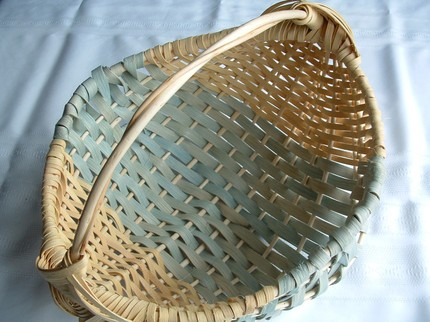 This Willow Basket ($49) would look lovely with a linen napkin draped across it, filled with homemade rolls.